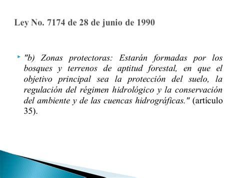 ley no 7554ley organica del ambiente inbio zona protectora de los acuiferos de guacimo y