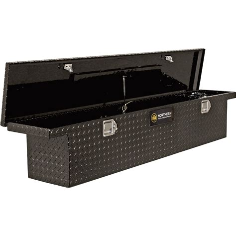 box for truck northern tool equipment crossover slim low profile gloss black truck tool box