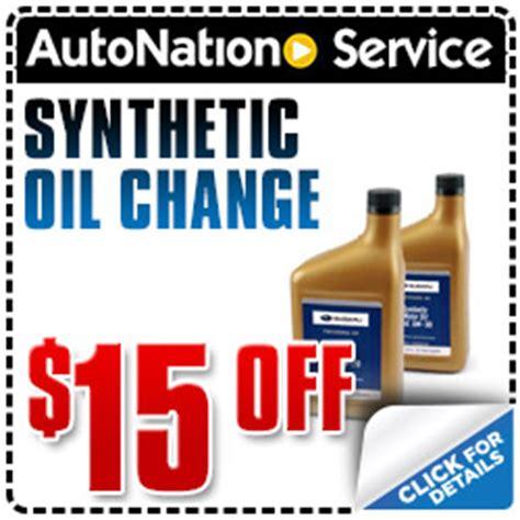 Autonation Honda Oil Change Coupon