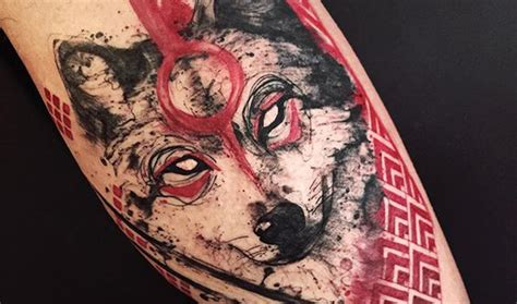 lobo tattoo crazy pictures to pin on pinterest tattooskid