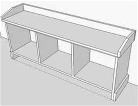entryway storage bench plans free build a bench on pinterest benches old headboard and