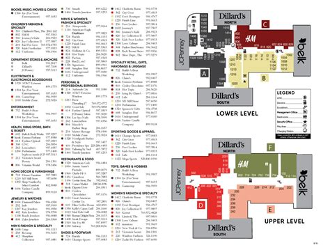park city mall map northpark mall shopping mall in ridgeland ms stores
