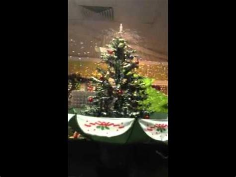 snowing christmas tree in umbrella youtube