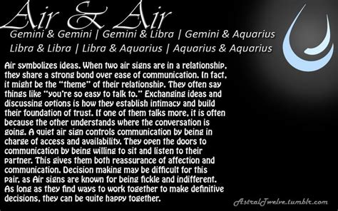 air air air symbolizes ideas when two air signs are in