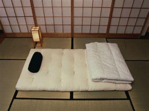materasso giapponese arredare la propria casa prefabbricata come in giappone