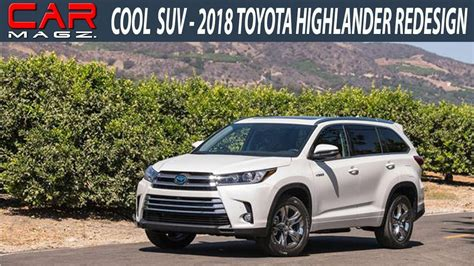 highlander colors 2018 toyota highlander hybrid review colors and release