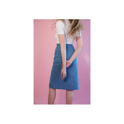 pattern jeans skirt sewing pattern i am patterns i am rom 233 o jupe en jeans
