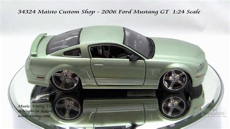124 Maisto Custom Shop Ford Mustang 34324 maisto custom shop 2006 ford mustang gt 124 scale