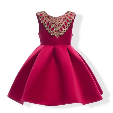 Dress Kid Pesta Clara Pink Fashion Anak Perempuan Dress Anak big bowtie dress children blue color butterfly wedding dress gown