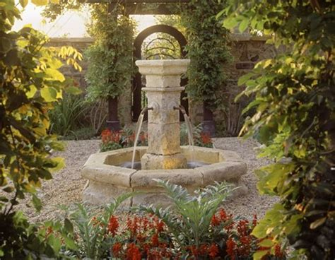 waterfall fountains for backyard garden fountain design ideas landscaping network