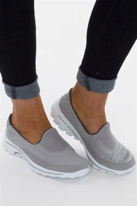 all black comfortable shoes new skechers go walk 2 shoes health fitness