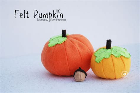 meal pattern for 1 year old free felt food pattern pumpkins onecreativemommy com