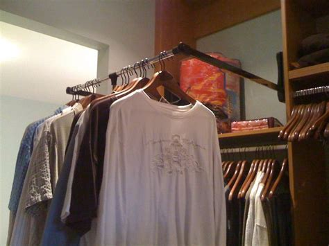 Folding Closet Rod by Fold Closet Rod Closets