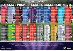 epl fixtures ist premier league fixtures 2015 16 here s your ultimate