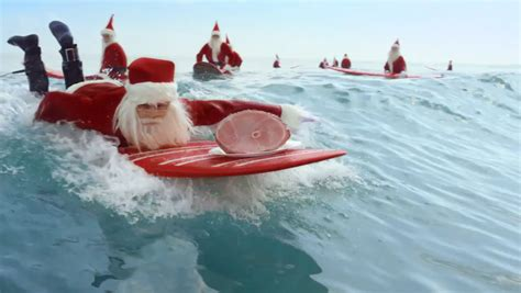 santa on surfboard what in australia is really like barbara s guesthouse