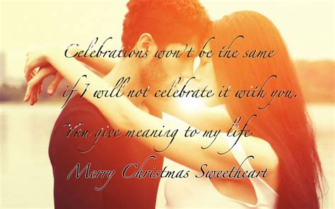 romantic christmas wishing greeting cards  boyfriend