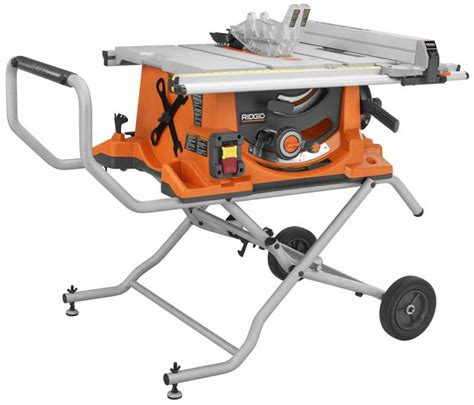Ridgid Portable Table Saw ridgid table saw preview