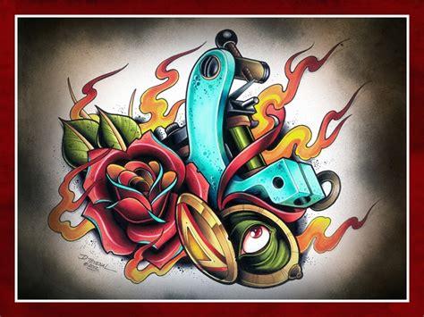dave tattoos david tevenal flash