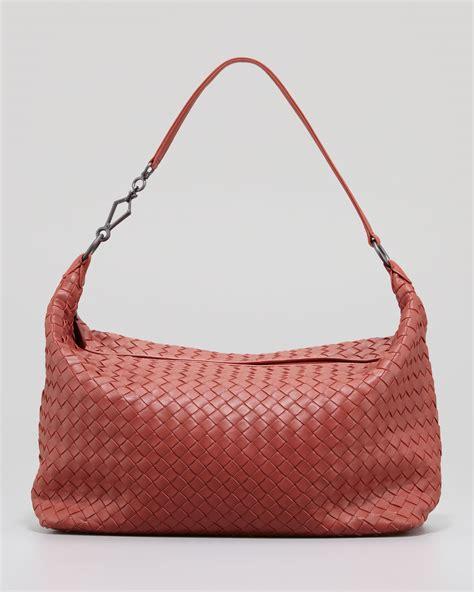 Bottega Veneta Woven Panel Purse by Bottega Veneta Medium Woven Zip Hobo Bag In