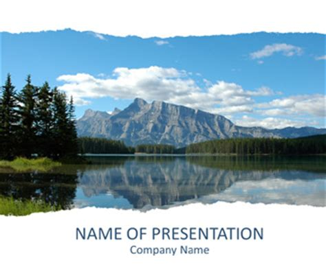 powerpoint templates free mountains image gallery lake backgrounds for powerpoint