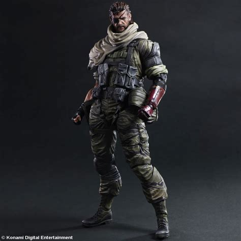 mgsv figure check out the venom snake figure by play arts