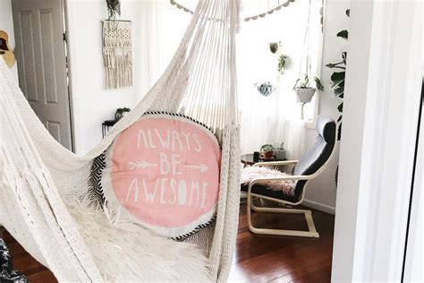 indoor hammock decorating ideas
