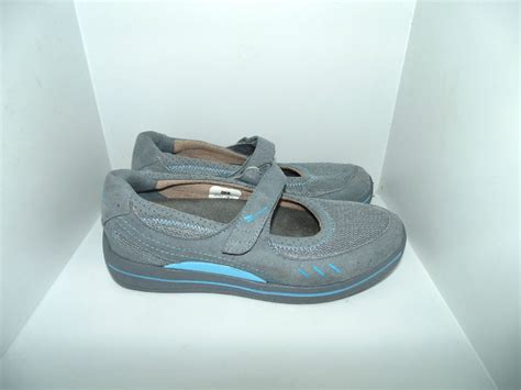 barefoot comfort shoes womens 37 us 7 barefoot freedom by drew bailey gray blue