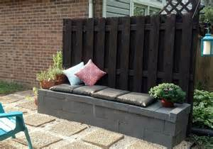 cinder block furniture backyard 10 genius ways to use cinder blocks in your garden hometalk