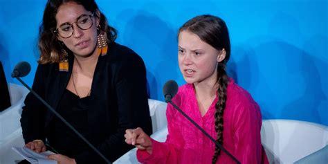 greta thunberg  world leaders stole  childhood