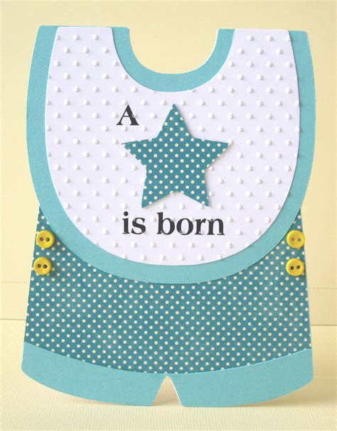 Template Baby Boy Card by Gem S Cottage 187 Is Born