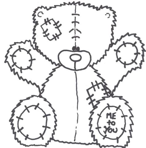 Free Coloring Pages Of Me To You Bear Me To You Colouring Pages