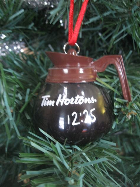 tim hortons christmas tree ornament 2010 canada my