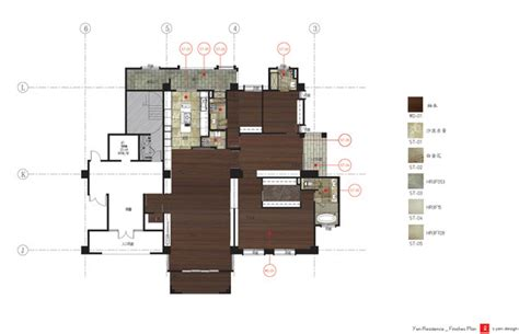 finish floor plan park lane residential on behance