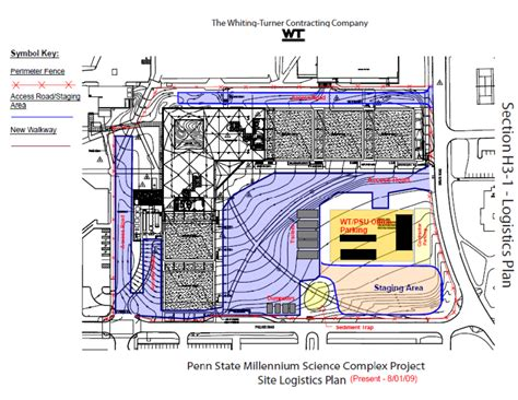 construction site plan ipd bim team 3 building statistics