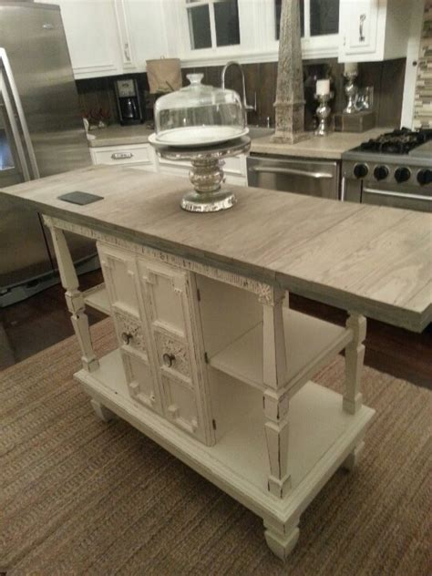 repurposed kitchen island serving buffet repurposed kitchen island something