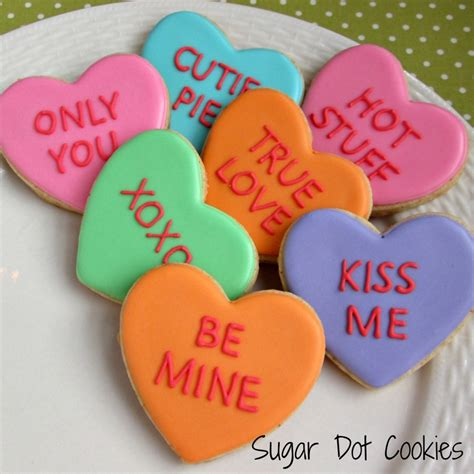valentines biscuits s day cookies sugar dot cookies handmade