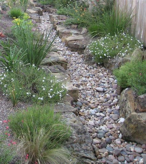 creek bed landscaping ideas car interior design