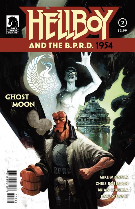 hellboy and the b p r d hellboy and the b p r d 1954 ghost moon 2 profile dark horse comics