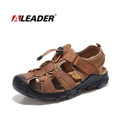mens outdoor sandals 癡俳utdoor shoes leather sandals for for summer