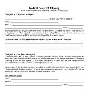 free power of attorney templates power of attorney templates 10 free word pdf documents