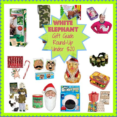 white elephant gift guide round up under 20