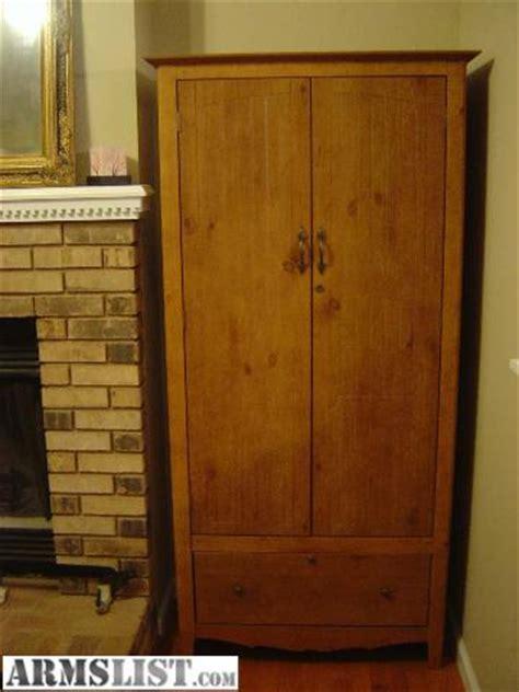wood gun cabinet for sale armslist for sale locking wood gun cabinet