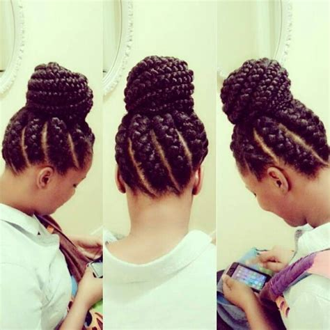 black hair styles with goddess braid or braid 3 african goddess braids hairstyles