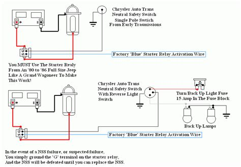 727 neutral safety switch wiring diagram 727 get free