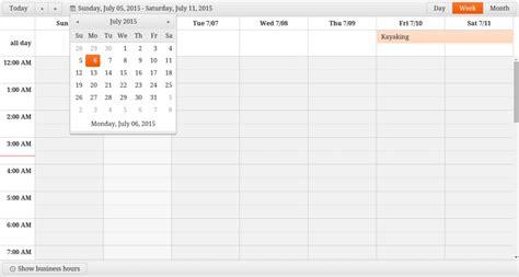Calendar Comparison A Comparison Of Javascript Calendars And Schedulers