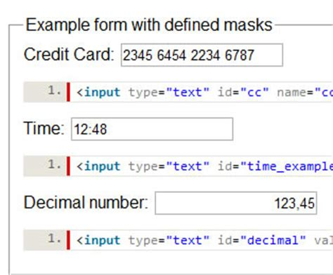 jquery format date phpsourcecode net jquery date format input mask phpsourcecode net