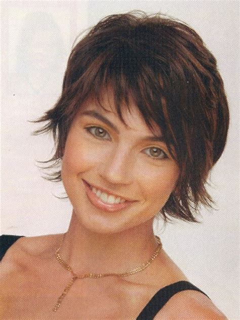 shag hairstyle for fine hair and round face shag hairstyles for round faces short edgy hairstyles