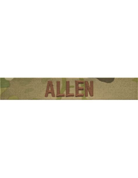 scorpion pattern name tapes usaf scorpion name tapw with brown embroidery