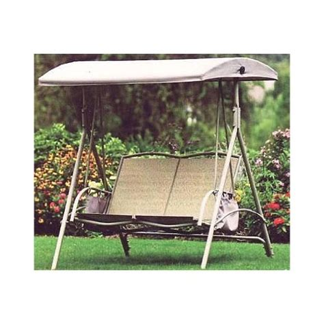 replacement awning for swing replacement canopy for garden treasures 2 person swing