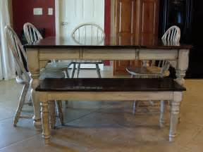Refurbished Kitchen Table Remodelaholic Kitchen Table Refinished With Distressed Look